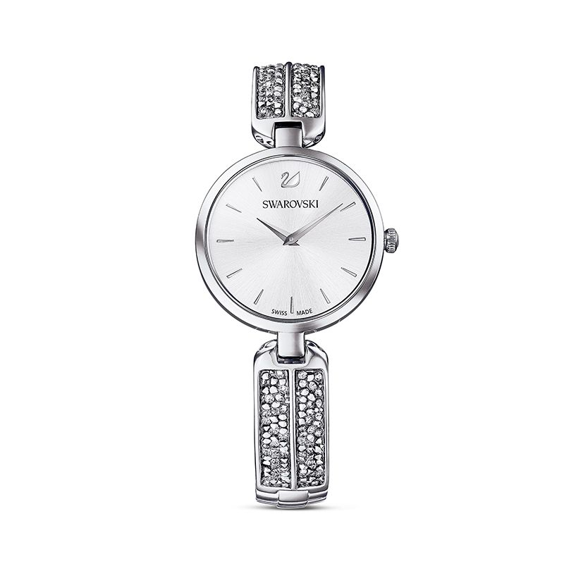 Swarovski Dream Rock Watch Metal Bracelet Silver tone Stainless steel 5519309 Crystal Rock - La Maison Monaco