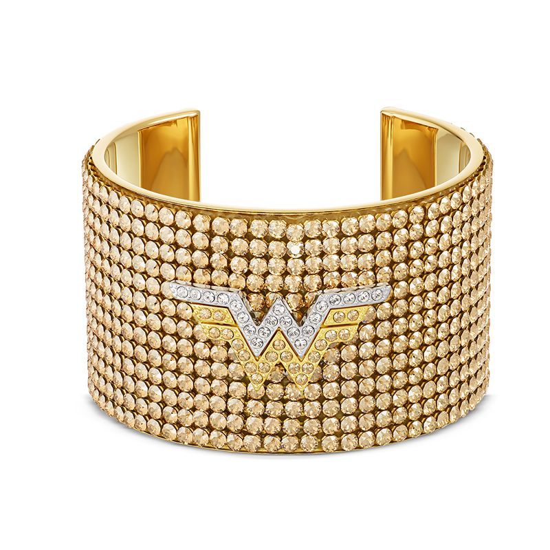 Swarovski Fit Wonder Woman Cuff Gold tone Mixed metal finish 5492145 Bracelet - La Maison Monaco