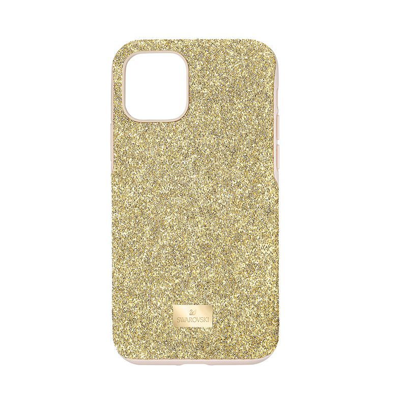Swarovski High Smartphone Case with Bumper iPhone® 11 Pro Gold tone 5533961 Mobile Accessories - La Maison Monaco