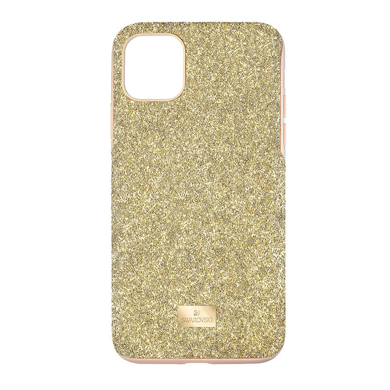 Swarovski High Smartphone Case with Bumper iPhone® 11 Pro Max Gold tone 5533970 Mobile Accessories - La Maison Monaco