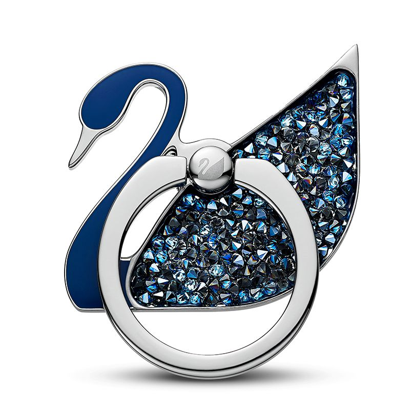 Swarovski Swan Ring Sticker Blue Stainless steel 5531511 Mobile Accessories - La Maison Monaco