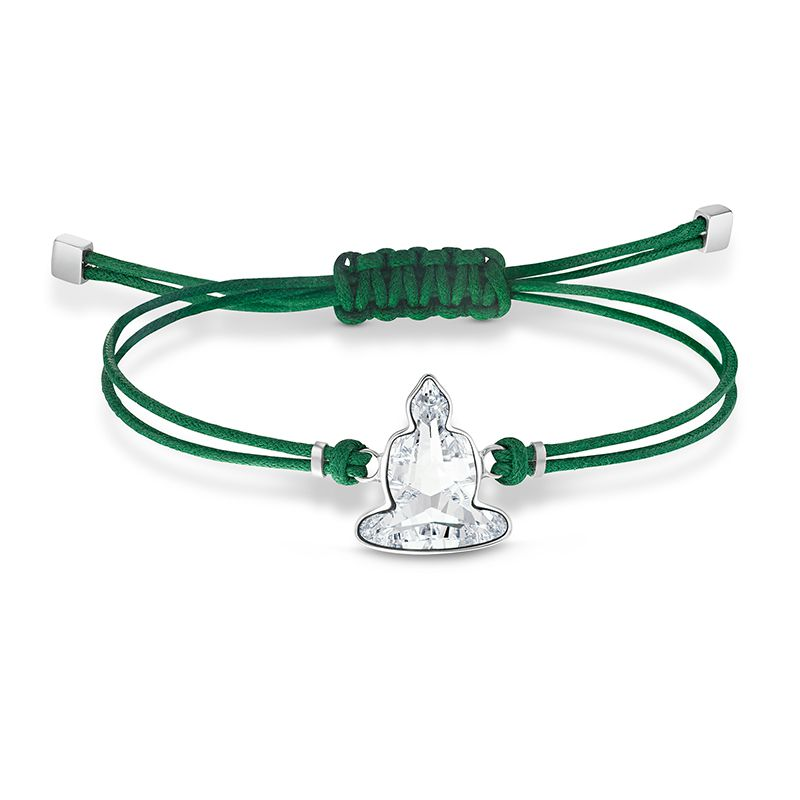 Swarovski Power Collection Buddha Bracelet Green Stainless steel 5523173 Bracelet - La Maison Monaco