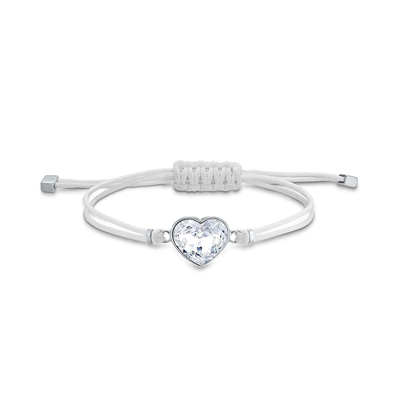 Swarovski Power Collection Heart Bracelet White Stainless steel 5523696 Bracelet - La Maison Monaco