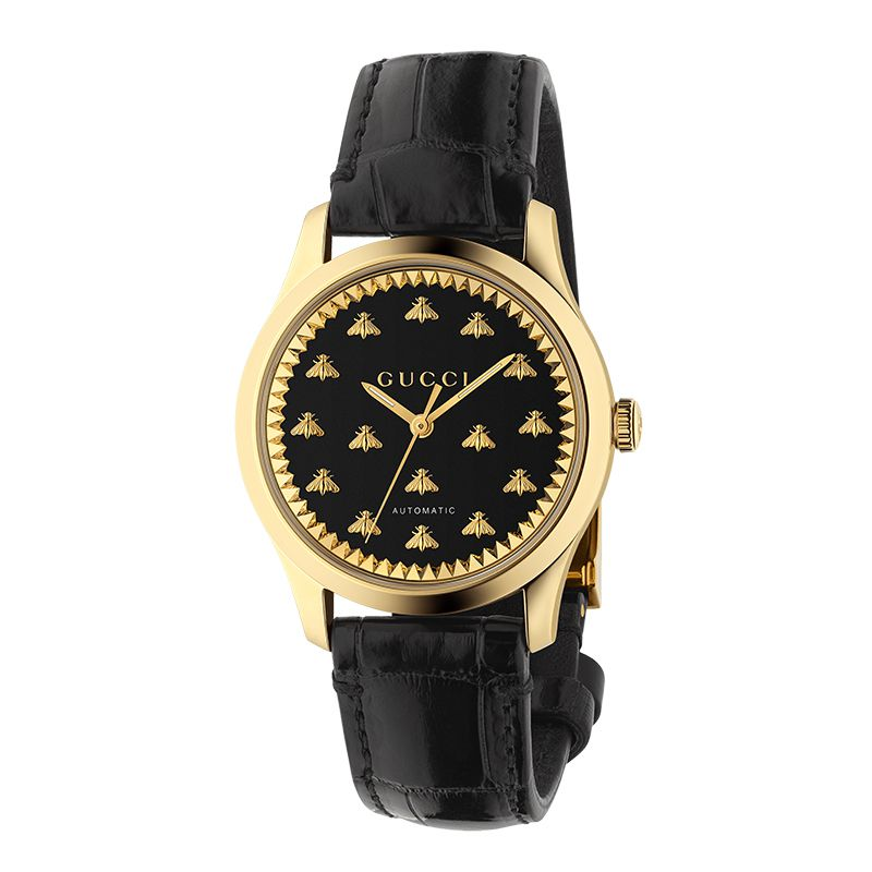 Gucci Timepieces G-Timeless Engraved YA1264120 Unisex Watch