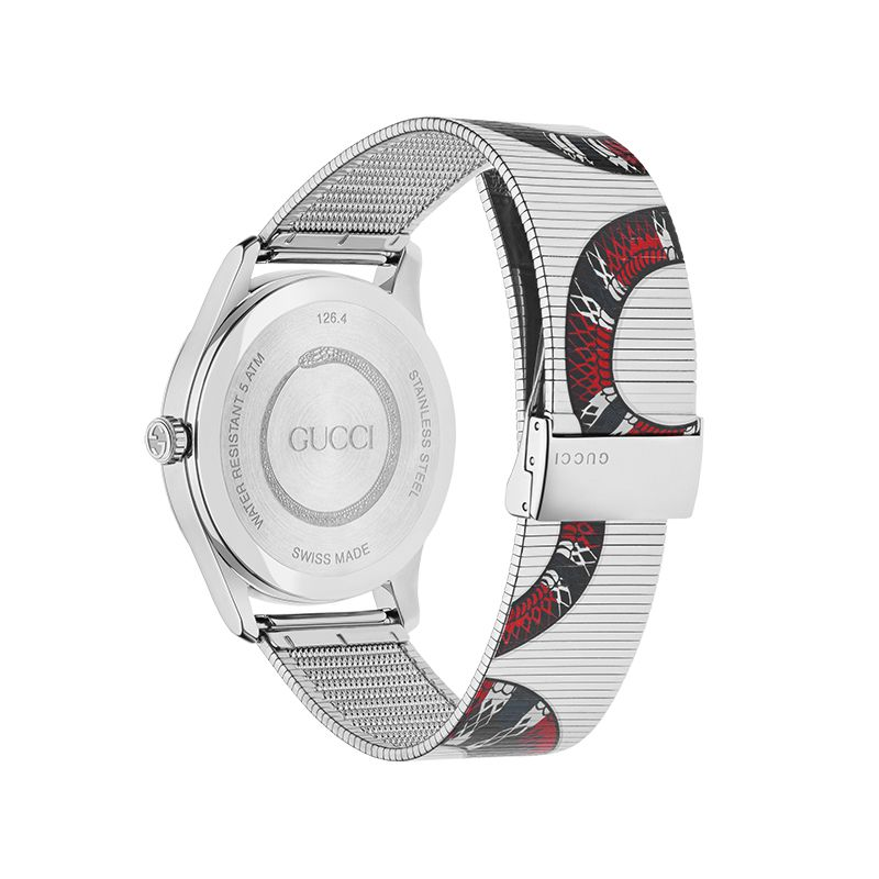 Gucci Timepieces G-Timeless Engraved YA1264123 Man Watch