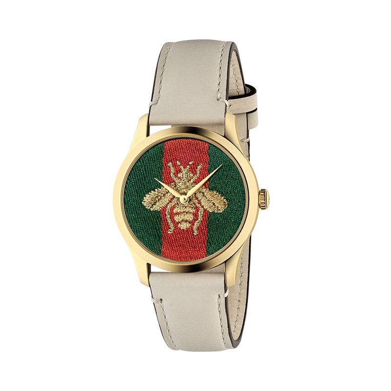 Gucci Timepieces G-Timeless Engraved YA1264128 Unisex Watch