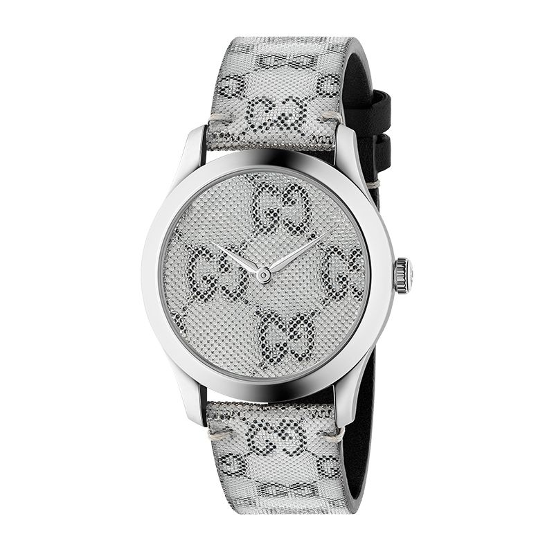 Gucci Timepieces G-Timeless Engraved YA1264058 Unisex Watch
