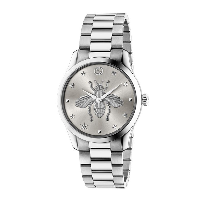 Gucci Timepieces G-Timeless Engraved YA1264126 Unisex Watch
