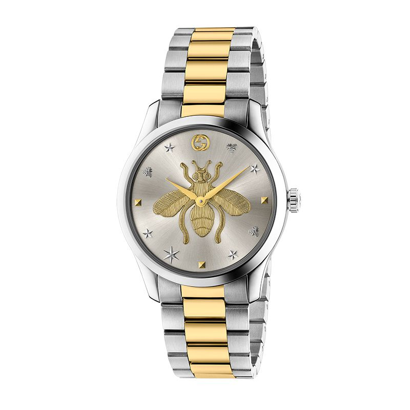 Gucci Timepieces G-Timeless Engraved YA1264131 Unisex Watch