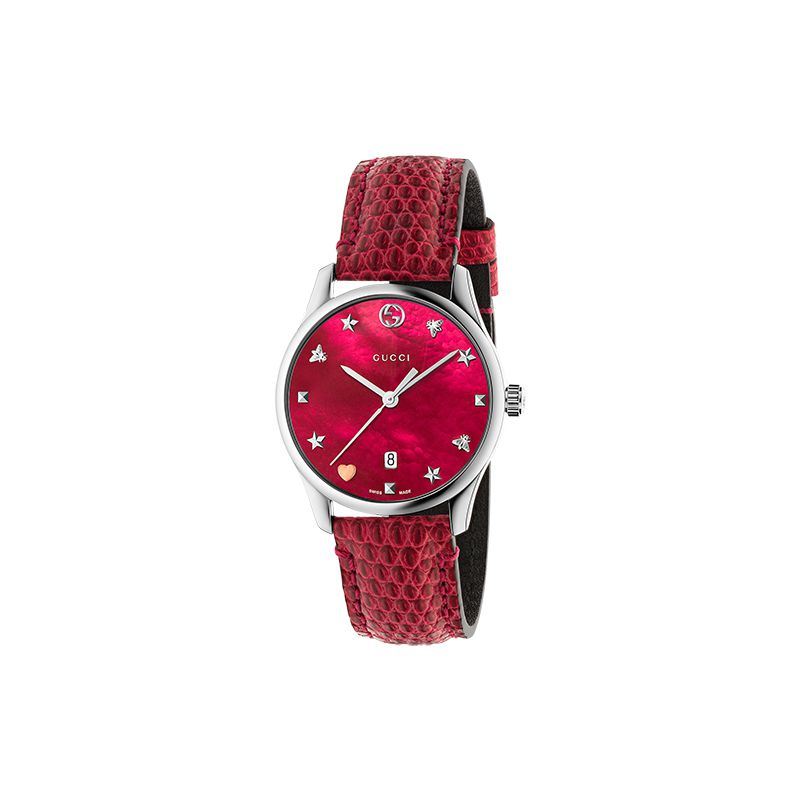 Gucci Timepieces G-Timeless Contemporary YA126584 Woman Watch