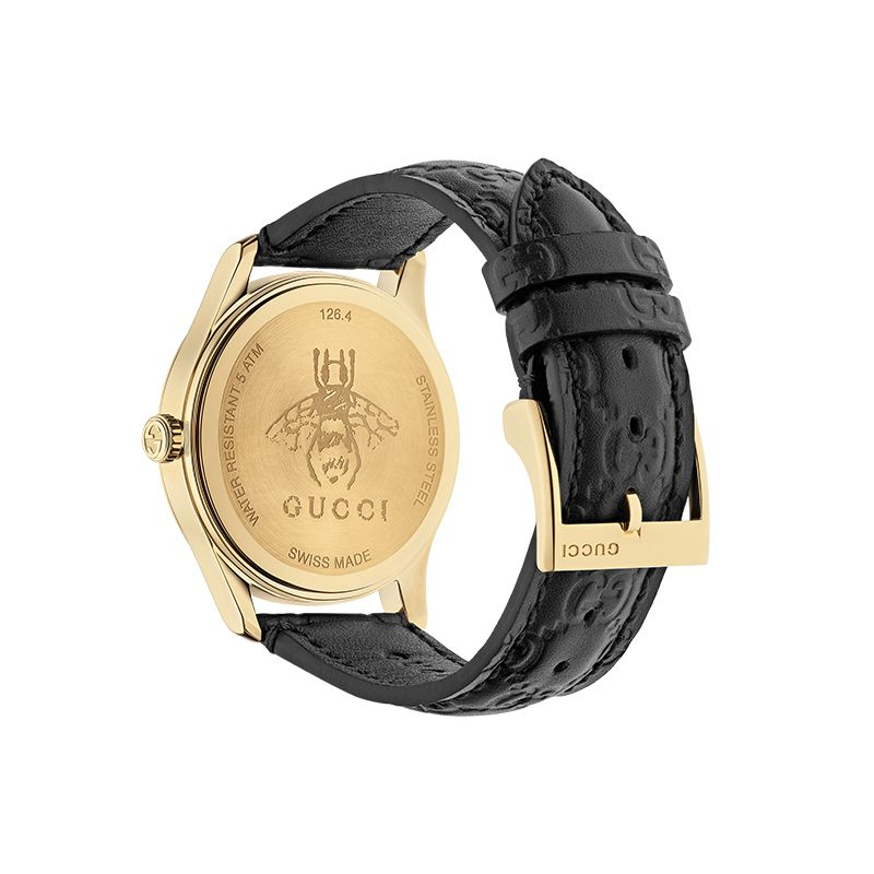 Gucci Timepieces G-Timeless Engraved YA1264034A Unisex Watch