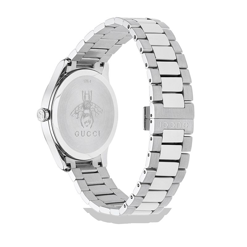 Gucci Timepieces G-Timeless Engraved YA1264076 Man Watch
