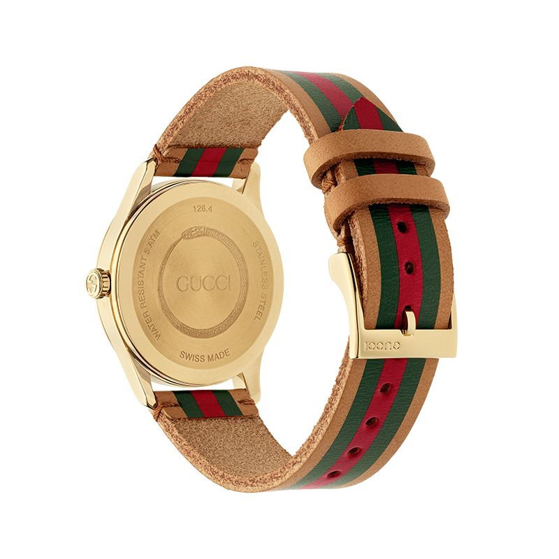 Gucci Timepieces G-Timeless Engraved YA1264077 Unisex Watch