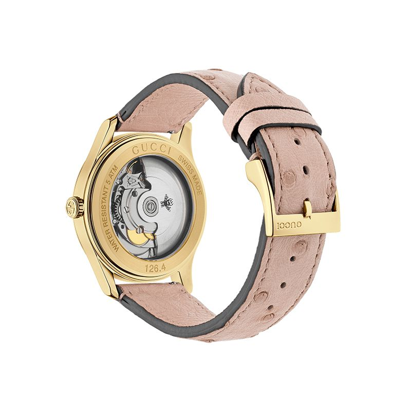 Gucci Timepieces G-Timeless Engraved YA1264110 Woman Watch