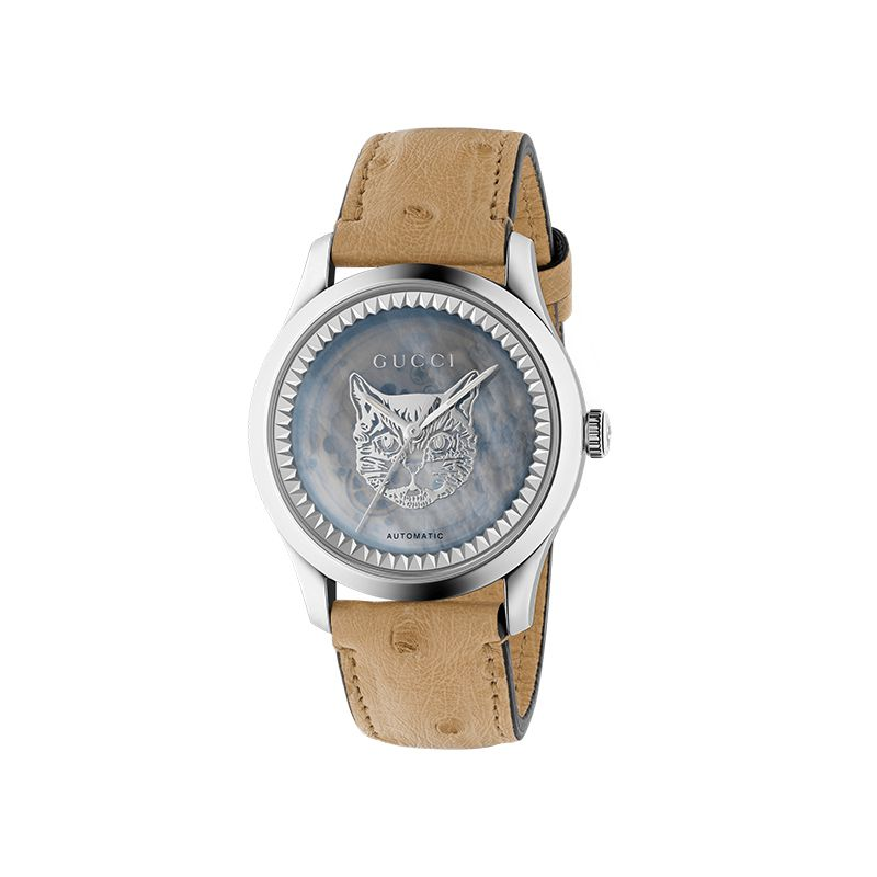 Gucci Timepieces G-Timeless Engraved YA1264112 Woman Watch