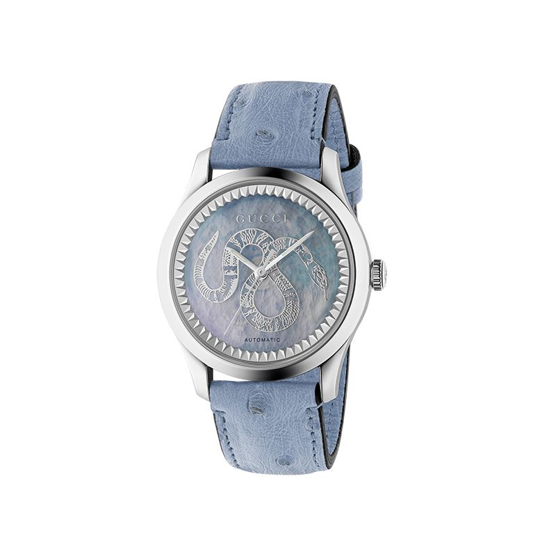 Gucci Timepieces G-Timeless Engraved YA1264113 Woman Watch
